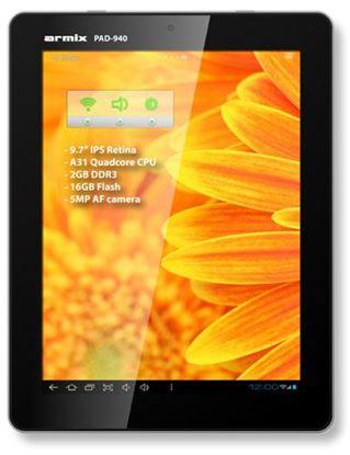 Изображение Планшет Armix PAD-940 Retina 16GB