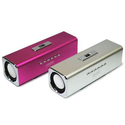 Изображение Колонка IRON Selection IR-02 (3+3 Вт) - FM, USB/TF, з/у USB, акб