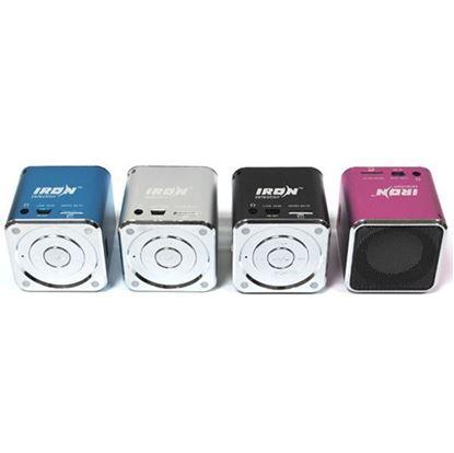Изображение Колонка IRON Selection IR-07 (3 Вт) - FM, USB/TF, з/у USB, акб