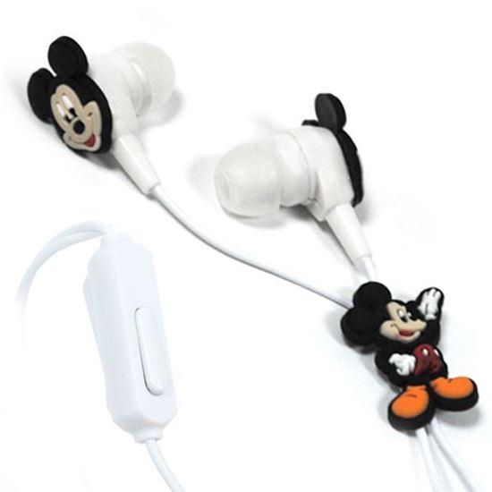 Изображение Гарнитура вакуумная (3,5) в большой коробочке Mickey Mouse