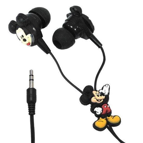 Изображение Нaушники вакуумные для MP3 в большой коробочке Mickey & Minnie