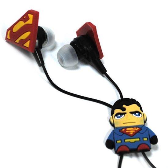 Изображение Нaушники вакуумные для MP3 в большой коробочке Superman