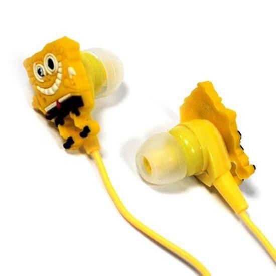 Изображение Нaушники вакуумные для MP3 в маленькой коробочке Spanch-Bob