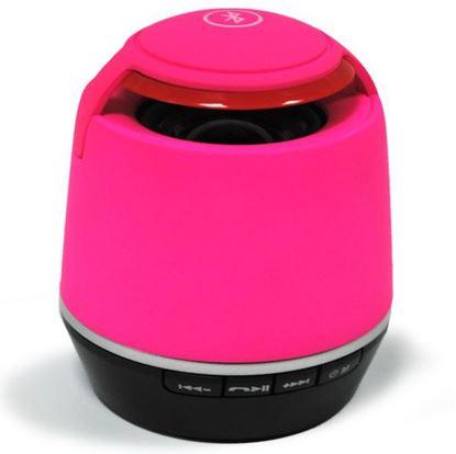 Изображение Колонка Bluetooth (3 Вт) - Micro SD/TF, з/у USB - круглая