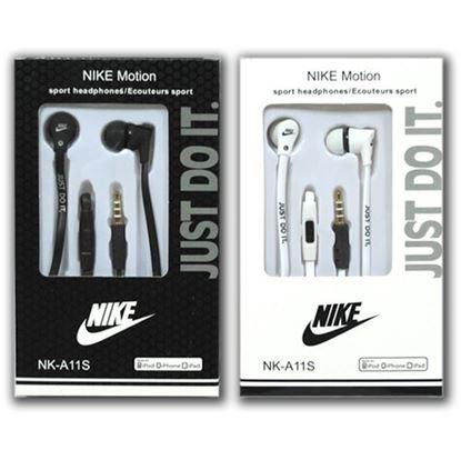 Изображение HF гарнитура вакуумная Nike NK-A11S (Pod, iPhone, Samsung) в коробочке