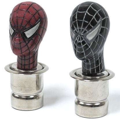 Изображение Прикуриватель автомобильный Человек-паук чёрный