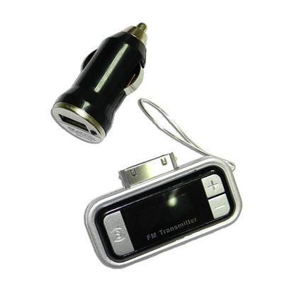 Изображение FM модулятор (FM-A11) пульт, microSD, AUX-выход