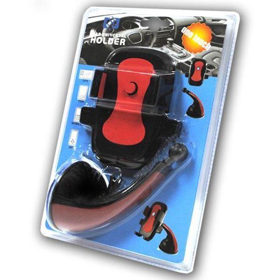 Изображение Автодержатель на шарнирной ножке кресло JS-002 чёрно-красный