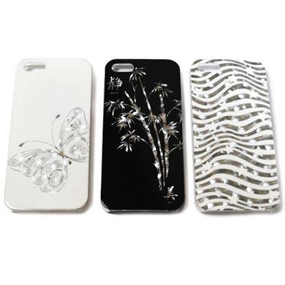 Изображение Задняя панель для Samsung i9500 Galaxy S4 пластиковая лаковая 3D Звёзды белая