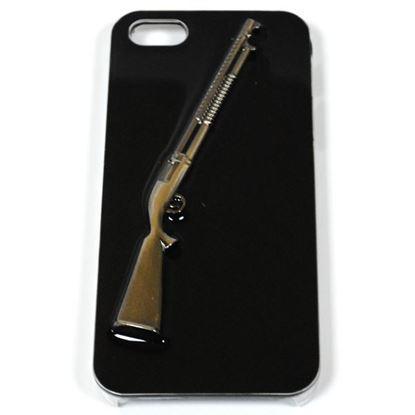 Изображение Задняя панель для iPhone 4/4S Military Style пластиковая чёрная Винчестер