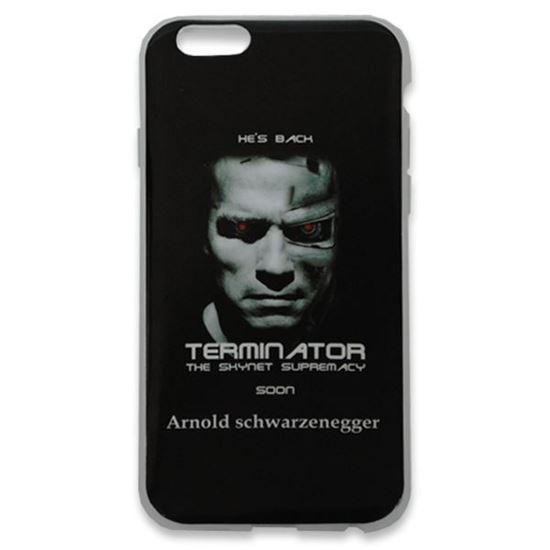 Изображение Задняя панель для iPhone 6 силикон лаковый Terminator