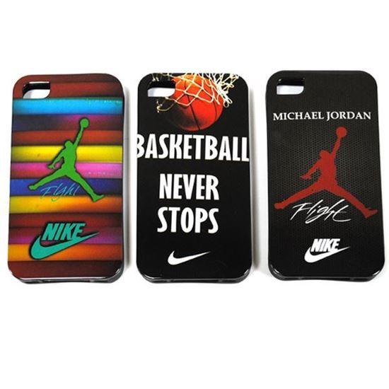 Изображение Задняя панель для iPhone 6 силикон лаковый Nike Flight Michael Jordan