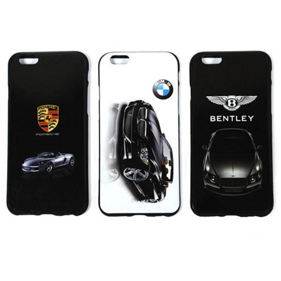 Изображение Задняя панель для iPhone 6 силикон лаковый Автомобиль Porsche