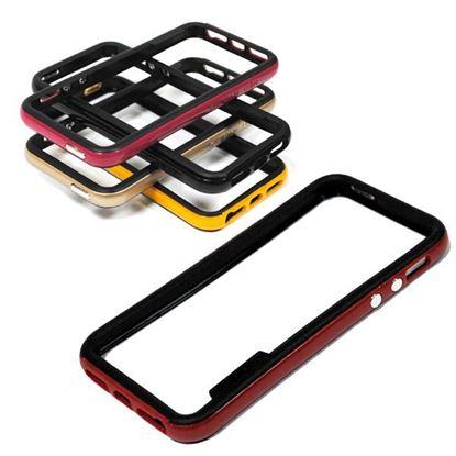 Изображение Бампер для iPhone 4/4S Spigen Neo Hybrid пластиковый с резиной чёрно-золотистый
