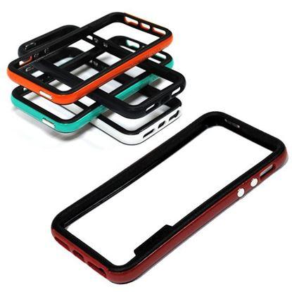 Изображение Бампер для iPhone 4/4S Spigen Neo Hybrid пластиковый с резиной чёрно-красный