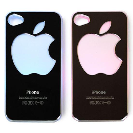 Изображение Задняя панель для iPhone 5/5S световая алюминиевая Яблоко кофейная