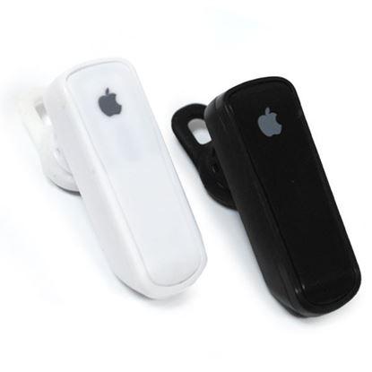 Изображение HF гарнитура Bluetooth беспроводнaя iPhone H518 в коробочке чёрная