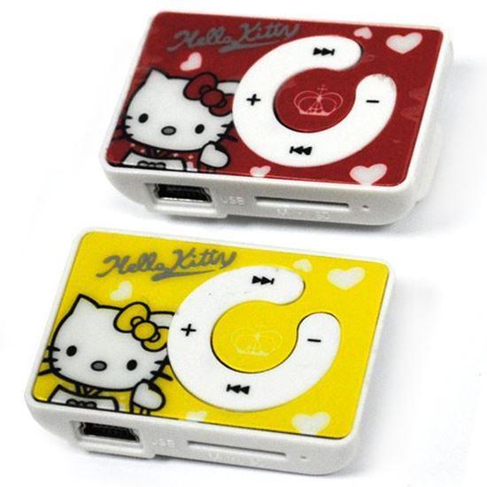 Изображение MР3 плеер RK-302 (слот microSD, прищепка) Hello Kitty