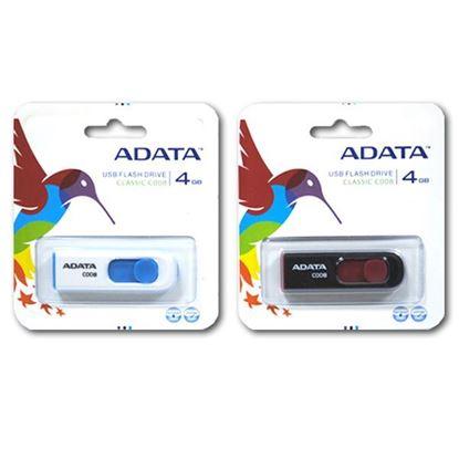 Изображение USB накопитель ADATA 4Gb чёрно-красный