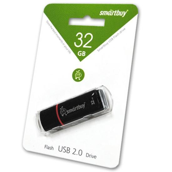 Изображение USB накопитель Smart Buy 32Gb Crown чёрный