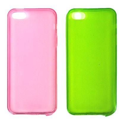 Изображение Задняя панель i-Best для iPhone 4/4S (тонкий силикон) матовая розовая