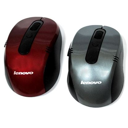 Изображение Мышь компьютерная беспроводная HP 3090 фигурная чёрно-красная