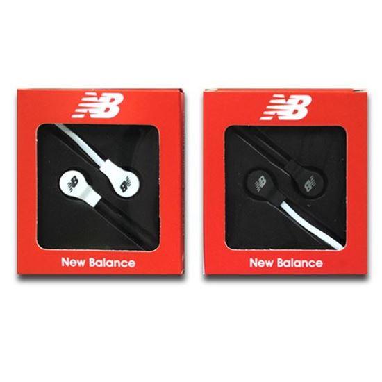Изображение Наушники вакуумные New Balance NB-11 (MP3, CD, iPod, iPhone, iPad) в коробке белые