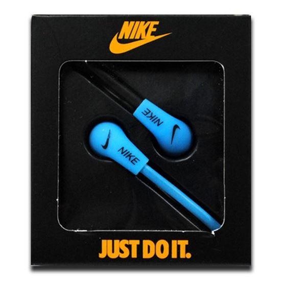 Изображение Наушники вакуумные Nike NK-9 (MP3, CD, iPod, iPhone, iPad) в коробке голубые