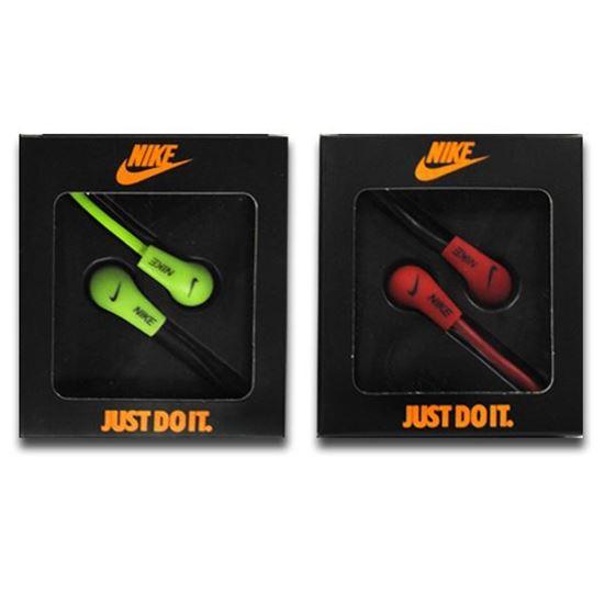 Изображение Наушники вакуумные Nike NK-9 (MP3, CD, iPod, iPhone, iPad) в коробке красные