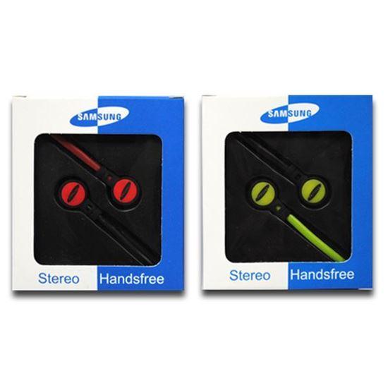 Изображение Наушники вакуумные Samsung SM-13 (MP3, CD, iPod, iPhone, iPad) в коробке красные