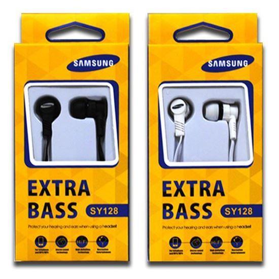 Изображение Наушники вакуумные Samsung SY-128 (MP3, CD, iPod, iPhone, iPad) в коробке белые