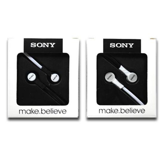 Изображение Наушники вакуумные Sony SN-12 (MP3, CD, iPod, iPhone, iPad) в коробке чёрные