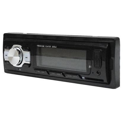 Изображение Автомагнитола PION-R (1 DIN, USB, SD, 45W*4, AUX, цветной дисплей, bluetooth) чёрная