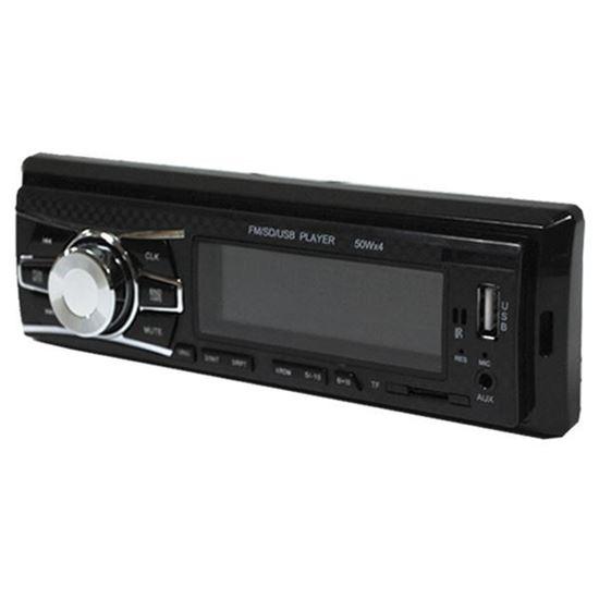 Изображение Автомагнитола PION-R 257 (1 DIN, USB, SD, 25W*2, AUX, цветной дисплей) чёрная