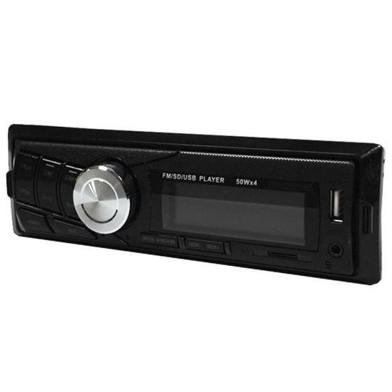 Изображение Автомагнитола PION-R 260 (1 DIN, USB, SD, 25W*2, AUX, цветной дисплей) чёрная