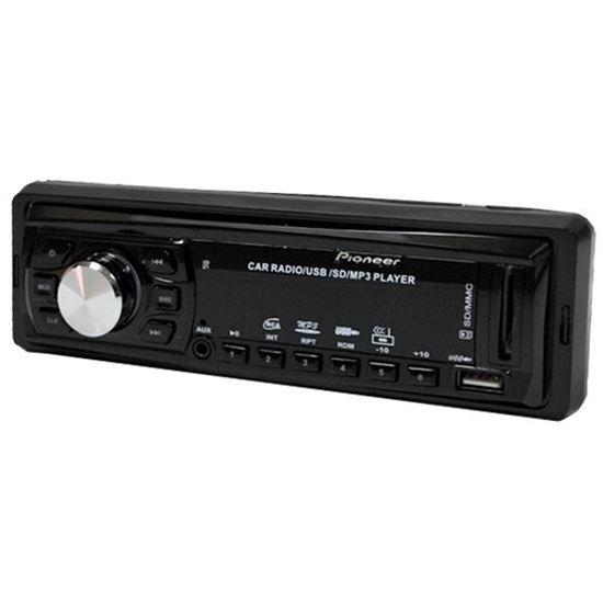 Изображение Автомагнитола PION-R 265 (1 DIN, USB, SD, 25W*2, AUX, цветной дисплей) чёрная (поврежд.упаковка)