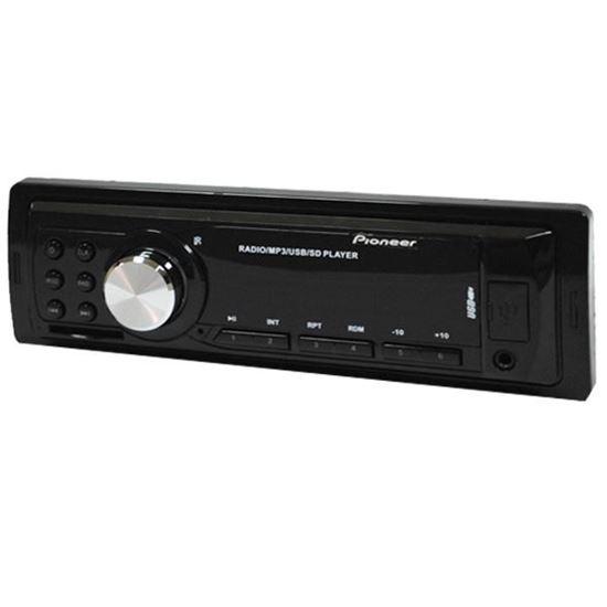 Изображение Автомагнитола PION-R 515 (1 DIN, USB, SD, 45W*4, AUX, цветной дисплей) чёрная