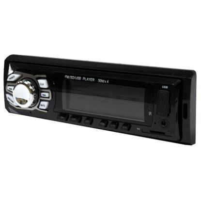 Изображение Автомагнитола PION-R 263 (1 DIN, USB, SD, 25W*2, AUX, цветной дисплей) чёрная