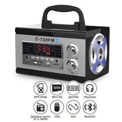 Изображение Портативная аудиосистема AVS C-720FM