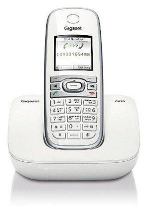 Изображение Радиотелефон Dect Gigaset С610 (белый)