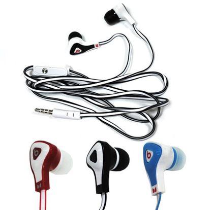 Изображение HF гарнитура Monster Beats by dr.Dre SP-89 DИA (iPhone,iPod,iPad) вакуумная в пакетике голубая