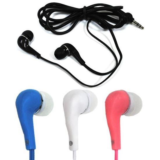 Изображение Наушники вакуумные (MP3, CD, iPod, iPhone, iPad) в пакете zip-lock