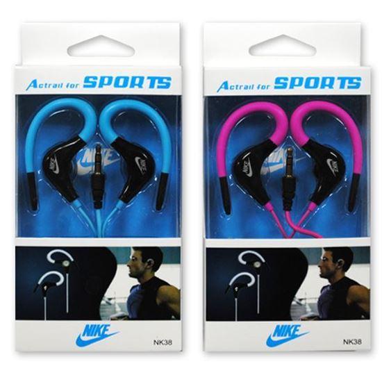 Изображение HF гарнитура спортивная с креплением на ухо Nike NK38 (Pod, iPhone, Samsung) в коробочке