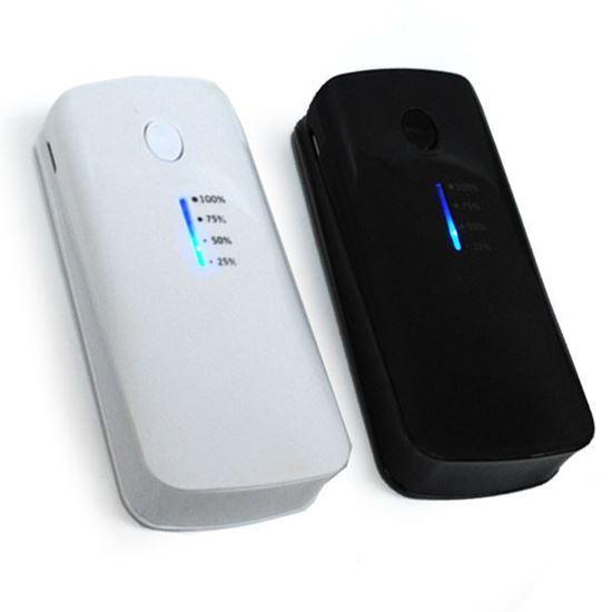 Изображение Портативное з/у - аккумулятор с переходниками Power Bank (5600 mAh) с индикатором заряда