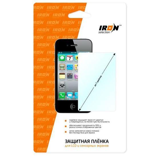 Изображение Защитная плёнкa (глянцевая) для дисплея с протиркой IRON Selection для iPhone 6 Plus