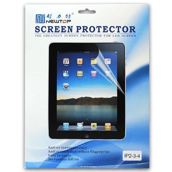 Изображение Защитная плёнка для дисплея (глянцевая) с протиркой для iPad 2/3/4