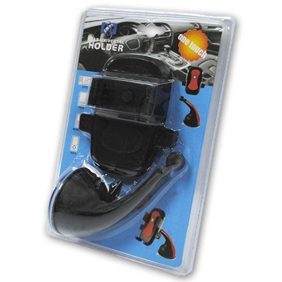 Изображение Автодержатель на шарнирной ножке кресло JS-002 чёрный