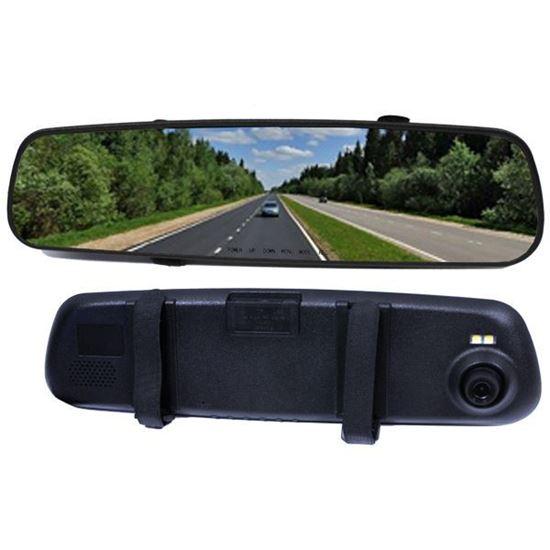 "Изображение Видеорегистратор в зеркале заднего вида D7 (1 камера 1920x1080P, LCD 2,7"") слот microSD"