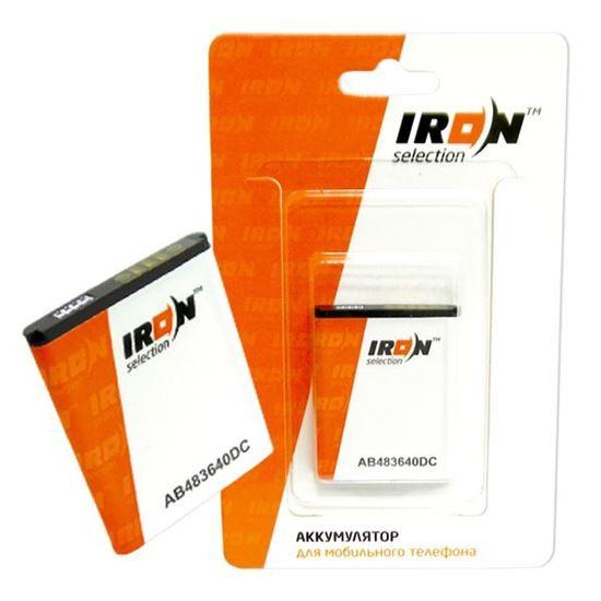 Изображение Аккумулятор IRON Selection для Nokia (BL-5C) 1100/2600/5030/5130/6085/ 6230/6630/N70/N71 (ECONOM)