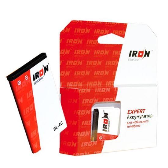 Изображение Аккумулятор IRON Selection для Nokia (BV-4D) 808 PureView/N8-00 1400 mAh (EXPERT)